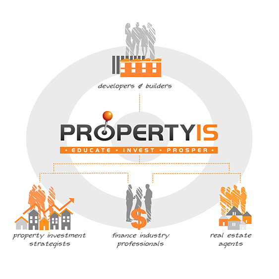 property investor solutions developer illustration